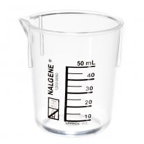 Beakers,Plastic,50mL,pk/12