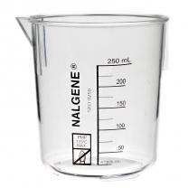 Beaker,Plastic,250mL,pk/6