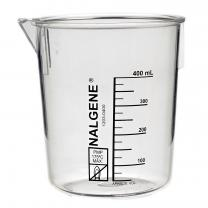 Beaker, Poly, 400mL, pk/6