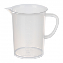 Beaker, Poly, 500mL