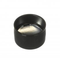 Cap,28-410,BLK,Pull Tab/Liner