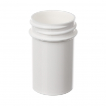 Jar,3/4oz,33-400,WHT,PP, each