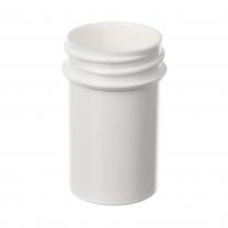 Jar,3/4oz,33-400,WHT,PP, each