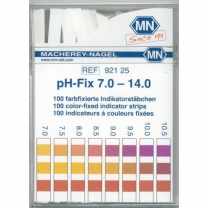 pH Strips,7-14,100/pk