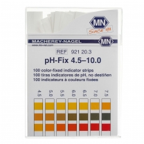 pH Strips,4.5-10.0 pH,100/pk