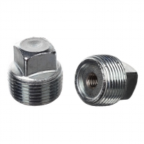 Pipe Plug,Zinc Coated Steel,1