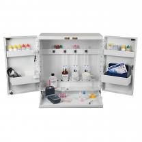 Test Cabinet, Plastic, 4 Buret