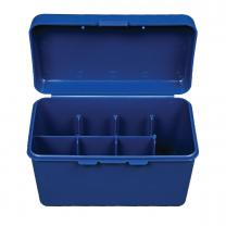 Case, Test Kit, Blue, 7 sectn Test Kit