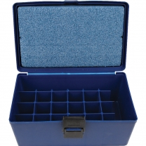 Case,TK, Blue, 24 Sections Test Kit